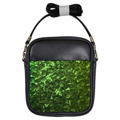 Bright Jade Green Jewelry Mother of Pearl Girls Sling Bags