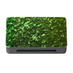 Bright Jade Green Jewelry Mother of Pearl Memory Card Reader with CF