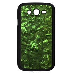 Bright Jade Green Jewelry Mother of Pearl Samsung Galaxy Grand DUOS I9082 Case (Black)