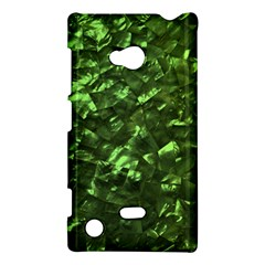 Bright Jade Green Jewelry Mother of Pearl Nokia Lumia 720