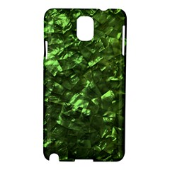 Bright Jade Green Jewelry Mother of Pearl Samsung Galaxy Note 3 N9005 Hardshell Case