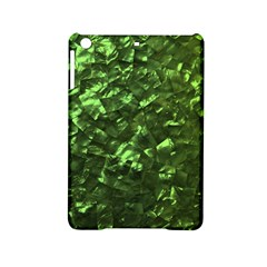 Bright Jade Green Jewelry Mother of Pearl iPad Mini 2 Hardshell Cases