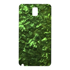 Bright Jade Green Jewelry Mother of Pearl Samsung Galaxy Note 3 N9005 Hardshell Back Case