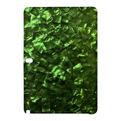 Bright Jade Green Jewelry Mother of Pearl Samsung Galaxy Tab Pro 10.1 Hardshell Case