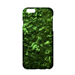 Bright Jade Green Jewelry Mother of Pearl Apple iPhone 6/6S Hardshell Case