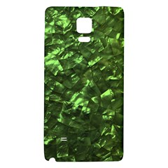Bright Jade Green Jewelry Mother of Pearl Galaxy Note 4 Back Case