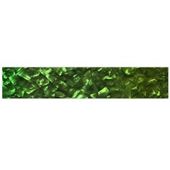 Bright Jade Green Jewelry Mother of Pearl Flano Scarf (Large)