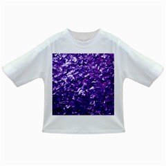 Natural Shimmering Purple Amethyst Mother of Pearl Nacre Infant/Toddler T-Shirts