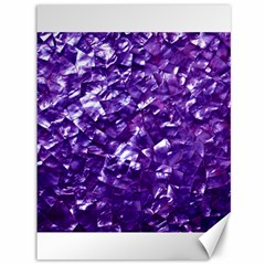 Natural Shimmering Purple Amethyst Mother of Pearl Nacre Canvas 36  x 48
