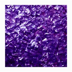 Natural Shimmering Purple Amethyst Mother of Pearl Nacre Medium Glasses Cloth (2-Side)