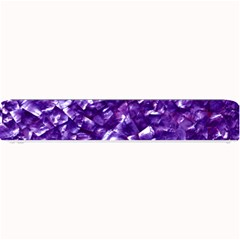 Natural Shimmering Purple Amethyst Mother of Pearl Nacre Small Bar Mats