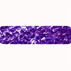 Natural Shimmering Purple Amethyst Mother of Pearl Nacre Large Bar Mats