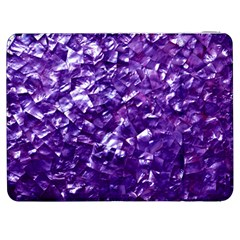Natural Shimmering Purple Amethyst Mother of Pearl Nacre Samsung Galaxy Tab 7  P1000 Flip Case