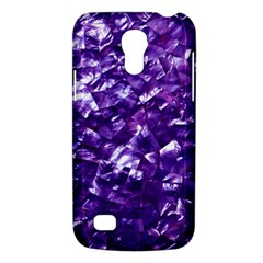 Natural Shimmering Purple Amethyst Mother of Pearl Nacre Galaxy S4 Mini