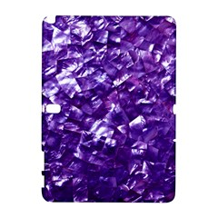 Natural Shimmering Purple Amethyst Mother of Pearl Nacre Galaxy Note 1