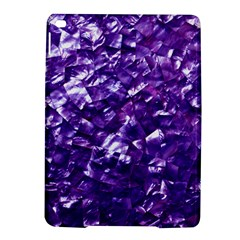 Natural Shimmering Purple Amethyst Mother of Pearl Nacre iPad Air 2 Hardshell Cases