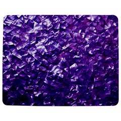 Natural Shimmering Purple Amethyst Mother Of Pearl Nacre Jigsaw Puzzle Photo Stand (rectangular)