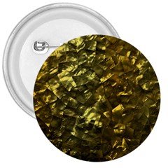 Bright Gold Mother of Pearl Nacre Pattern 3  Buttons