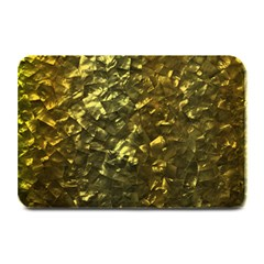 Bright Gold Mother of Pearl Nacre Pattern Plate Mats