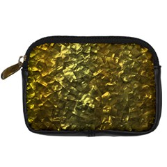 Bright Gold Mother Of Pearl Nacre Pattern Digital Camera Cases