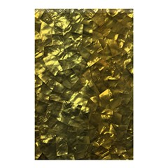 Bright Gold Mother of Pearl Nacre Pattern Shower Curtain 48  x 72  (Small)