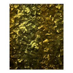 Bright Gold Mother of Pearl Nacre Pattern Shower Curtain 60  x 72  (Medium)