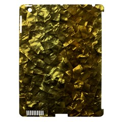Bright Gold Mother of Pearl Nacre Pattern Apple iPad 3/4 Hardshell Case (Compatible with Smart Cover)