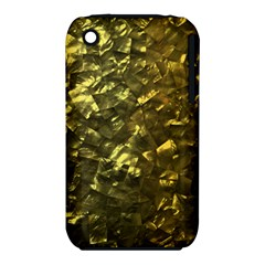Bright Gold Mother of Pearl Nacre Pattern iPhone 3S/3GS