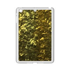 Bright Gold Mother of Pearl Nacre Pattern iPad Mini 2 Enamel Coated Cases