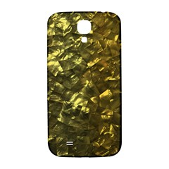 Bright Gold Mother of Pearl Nacre Pattern Samsung Galaxy S4 I9500/I9505  Hardshell Back Case