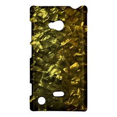 Bright Gold Mother of Pearl Nacre Pattern Nokia Lumia 720