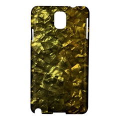 Bright Gold Mother of Pearl Nacre Pattern Samsung Galaxy Note 3 N9005 Hardshell Case