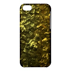 Bright Gold Mother of Pearl Nacre Pattern Apple iPhone 5C Hardshell Case