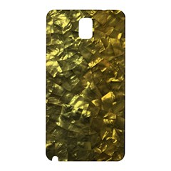 Bright Gold Mother of Pearl Nacre Pattern Samsung Galaxy Note 3 N9005 Hardshell Back Case