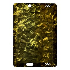 Bright Gold Mother of Pearl Nacre Pattern Amazon Kindle Fire HD (2013) Hardshell Case