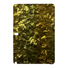 Bright Gold Mother of Pearl Nacre Pattern Samsung Galaxy Tab Pro 12.2 Hardshell Case