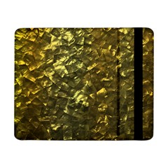 Bright Gold Mother of Pearl Nacre Pattern Samsung Galaxy Tab Pro 8.4  Flip Case