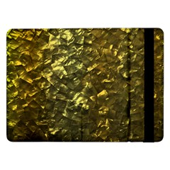 Bright Gold Mother of Pearl Nacre Pattern Samsung Galaxy Tab Pro 12.2  Flip Case