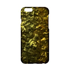 Bright Gold Mother of Pearl Nacre Pattern Apple iPhone 6/6S Hardshell Case
