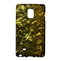 Bright Gold Mother of Pearl Nacre Pattern Galaxy Note Edge