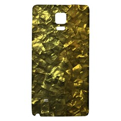 Bright Gold Mother of Pearl Nacre Pattern Galaxy Note 4 Back Case