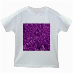Melting Swirl B Kids White T-Shirts