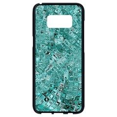 Melting Swirl D Samsung Galaxy S8 Black Seamless Case