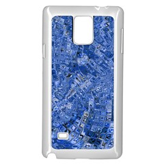 Melting Swirl C Samsung Galaxy Note 4 Case (White)