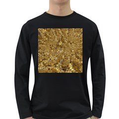 Melting Swirl E Long Sleeve Dark T-Shirts