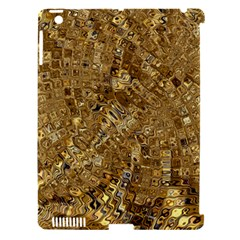 Melting Swirl E Apple iPad 3/4 Hardshell Case (Compatible with Smart Cover)