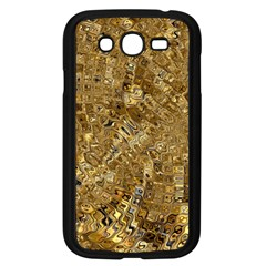 Melting Swirl E Samsung Galaxy Grand DUOS I9082 Case (Black)