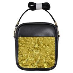 Melting Swirl F Girls Sling Bags