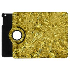 Melting Swirl F Apple iPad Mini Flip 360 Case