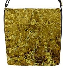 Melting Swirl F Flap Messenger Bag (S)
